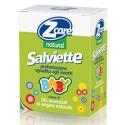 Zcare natural 10 salviette allontana zanzare baby
