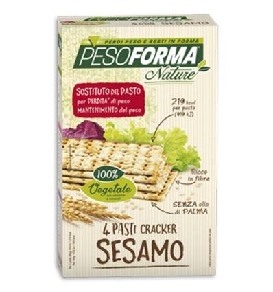 PesoForma cracker al sesamo 8 pocket