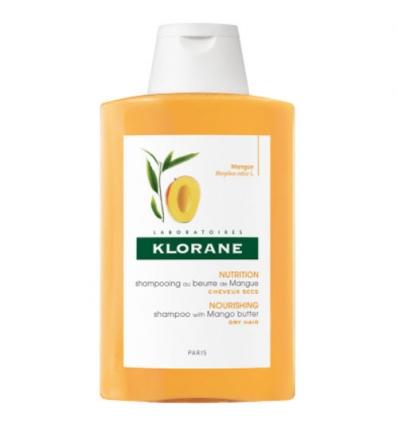 Klorane burro di mango shampoo capelli secchi 400ml