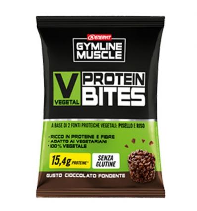 GymLine Muscle Vegetal Protein bites dark 54g