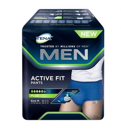 Tena Men active fit pants plus M 9pz