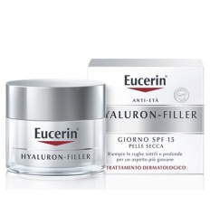 Eucerin Hyaluron Filler crema giorno pelli secche 50ml