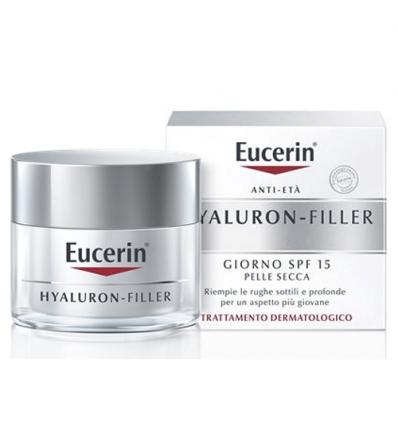 Eucerin Hyaluron Filler crema giorno pelli secche 50m