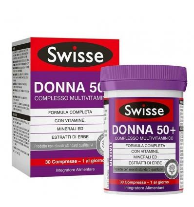 Swisse Donna 50+ complesso multivitaminico 30cpr