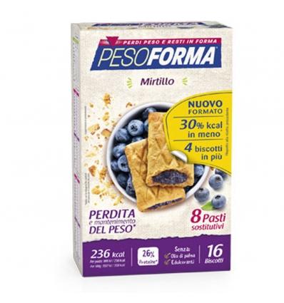 PesoForma biscotti ai mirtilli 8 pasti