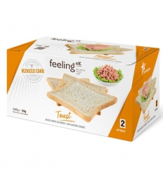 Feeling OK optimize toast nature 2x80g