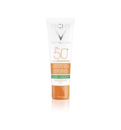 VICHY Soleil crema viso opacizzante spf50+ 50ml
