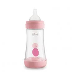 Chicco Perfect 5 bib 2mesi+ rosa 240ml flusso medio