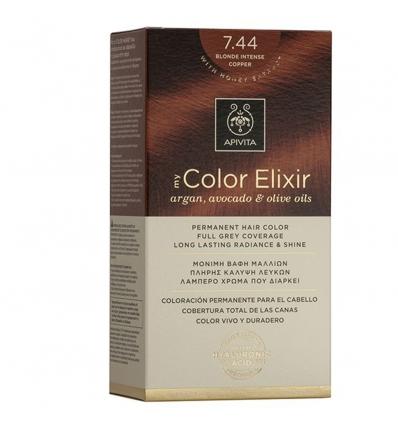 Apivita my Color Elixir 7.44 biondo intenso ramato