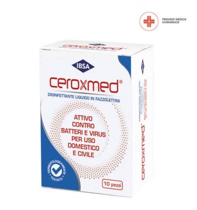 Ceroxmed fazzolettini disinfettanti 10pz