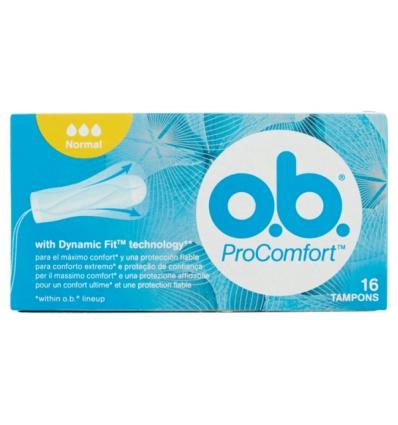 o.b. normal pro comfort 16 tamponi
