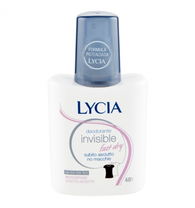 Lycia deo invisible fast dry vapo 75ml