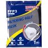 Barbeador Mascherina FFP3 1pz bianca