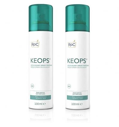 ROC Keops deo spray fresco 2x100ml