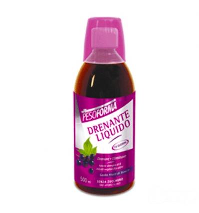 PesoForma drenante liquido 500ml frutti di bosco